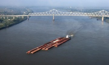 Mississippi barge crop