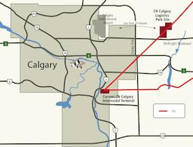 CN Calgary Logistics Park