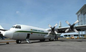 Lyden International Hercules plane crop