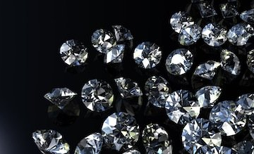 diamonds-loose crop