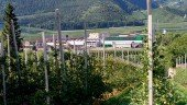 MIVOR's apple distribution facility in the northern Italian region of Val Venosta