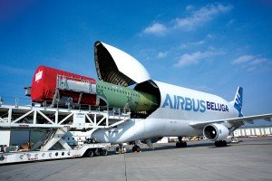 When sections are needed urgently Airbus can fly them to Mobile in a Beluga heavy lift freighter
