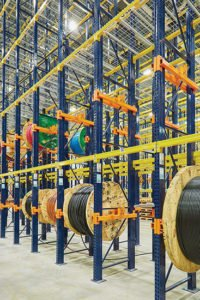 The reel rack