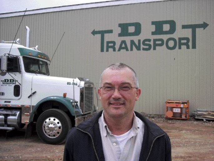 Gord Peddle of D.D. Transport will serve as vice-president and chief operating officer of the new company, Atlantica Diversified Transportation Systems.