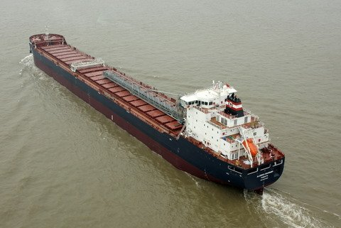 The Algoma Mariner arrived at its first Canadian port of call earlier this week.