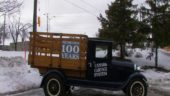 One of Canada Cartage's early trucks