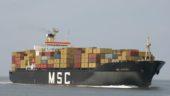 The MSC Sabrina has run aground near Trois-Rivieres.
