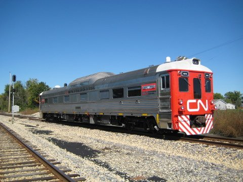 CN's new track geometry vehicle will be used along with the company's TEST car to give reports on track conditions.